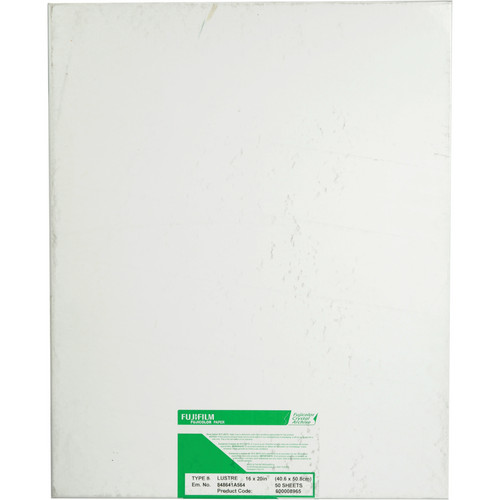 "FUJIFILM Fujicolor Crystal Archive Type II Paper (16 x 20"", Lustre, 50 Sheets)"