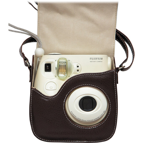 Fujifilm Leather Camera Case for the Instax Mini 7s (Brown)