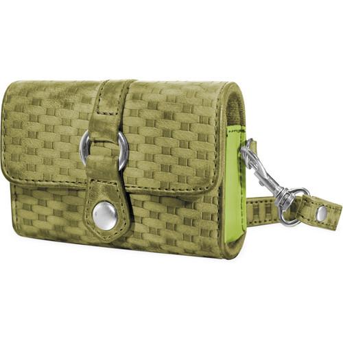 Fujifilm Woven Fabric Case (Green)