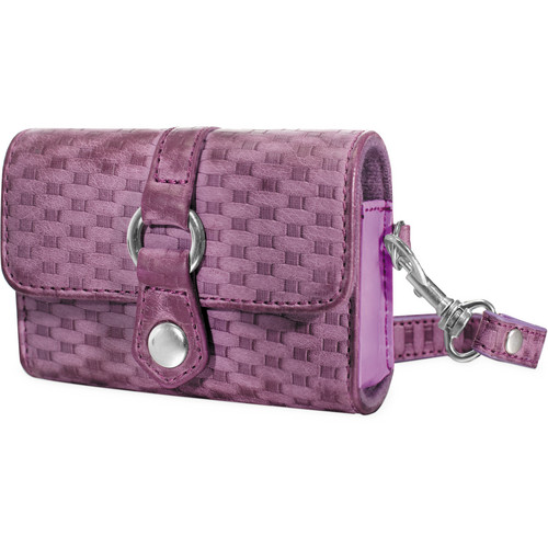 FUJIFILM Woven Fabric Camera Case (Purple)