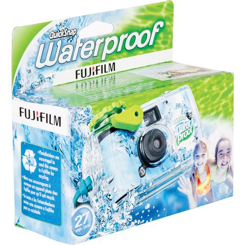 FUJIFILM Quicksnap 800 Waterproof 35mm Disposable Camera - 27 Exposures