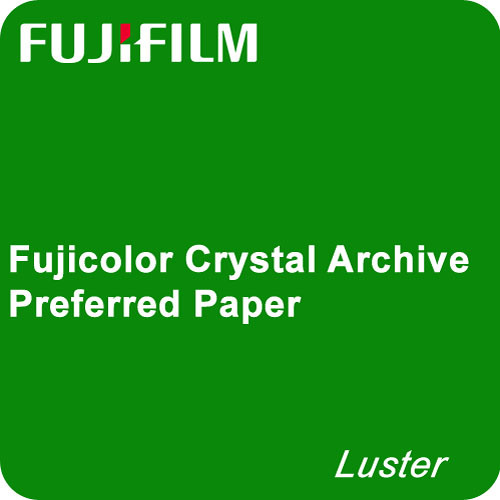 "Fujifilm Fujicolor Luster Crystal Archive Preferred Paper 6"" x 575'"