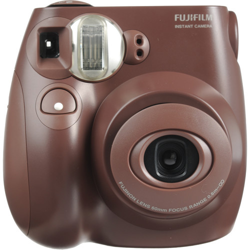 FUJIFILM instax mini 7S Instant Film Camera (Choco)