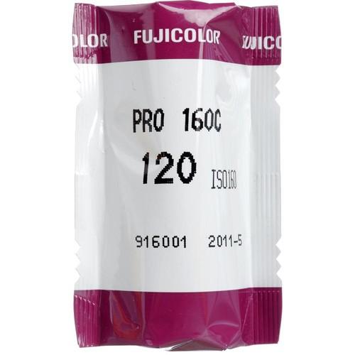 Fujifilm Pro 160C 120 Fujicolor ProfessiColor Negative Film