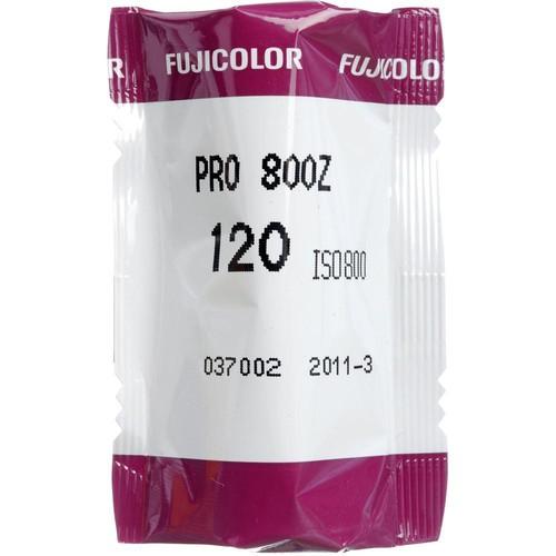 FUJIFILM Pro 800Z 120 Fujicolor 800 Professional Color Negative (Print) Film