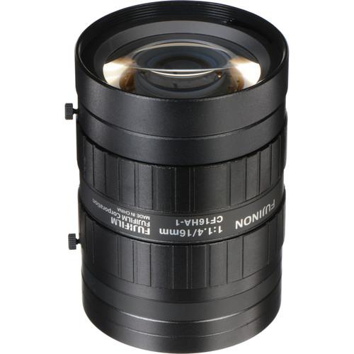 "Fujinon CF16HA-1 1"" 16mm Industrial Manual Lens for C-Mount Machine Vision Cameras"
