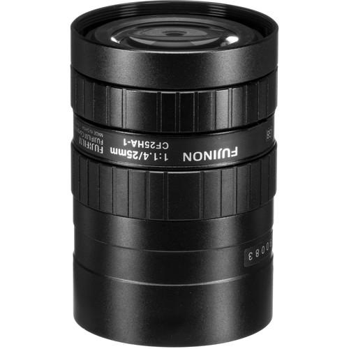"Fujinon CF25HA-1 1"" 25mm Industrial Manual Lens for C-Mount Machine Vision Cameras"