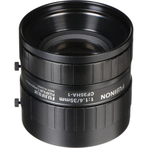 "Fujinon CF35HA-1 1"" 35mm Industrial Manual Lens for C-Mount Machine Vision Cameras"