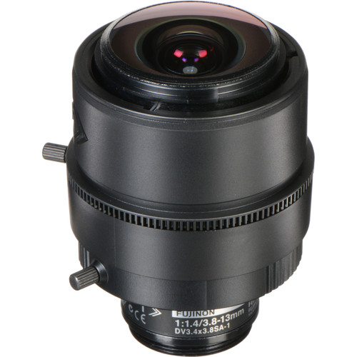 Fujinon 3 MP Varifocal Lens (3.8-13mm, 3.4x Zoom)