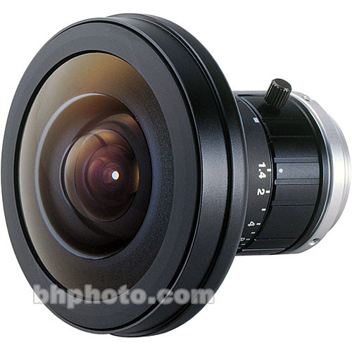 """Fujinon FE185C046HA-1 1/2"""" 1.4mm f/1.4 C-Mount Fish-Eye Lens"""