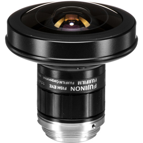 "Fujinon FE185C057HA-1 2/3"" 1.8mm F/1.4 Fish-Eye Lens for 5 Megapixel Cameras"