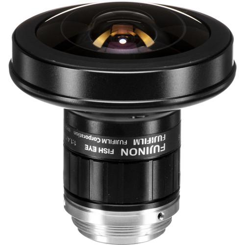 "Fujinon FE185C057HA-1 2/3"" 1.8mm F/1.4 Fish-Eye Lens for 5 Megapixel Cameras"