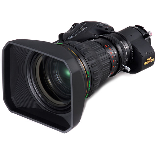 Fujinon HA23x7.6BERM-M6 ENG Lens with Digital Servo Zoom
