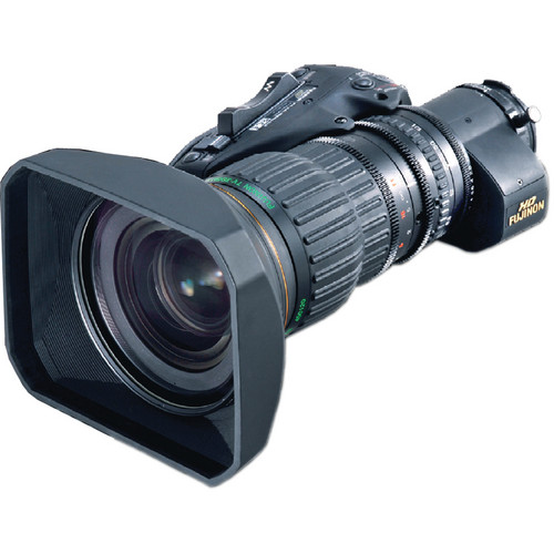 Fujinon HAs18x7.6BRD-S6 ENG Lens with Servo for Focus and Zoom