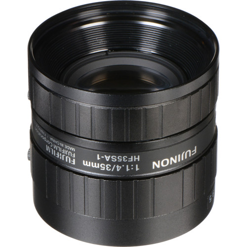"Fujinon HF35SA-1 2/3"" 35mm f/1.4 C-Mount Fixed Focal Lens for 5 Megapixel Cameras"