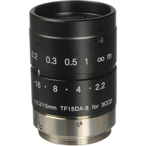 Fujinon TF15DA-8 15mm C-Mount Lens