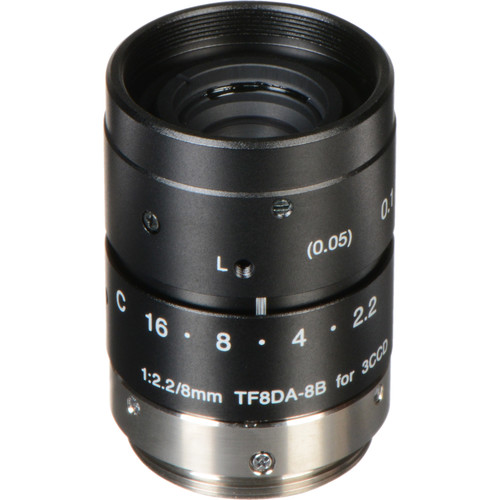 Fujinon TF8DA-8 8mm f/2.2 C-Mount Lens