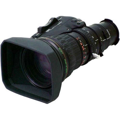 "Fujinon XS17x5.5BRM-M 1/2"" 17x High Definition Lens for XDCAM HD Cameras, Manual Focus, Servo Zoom"