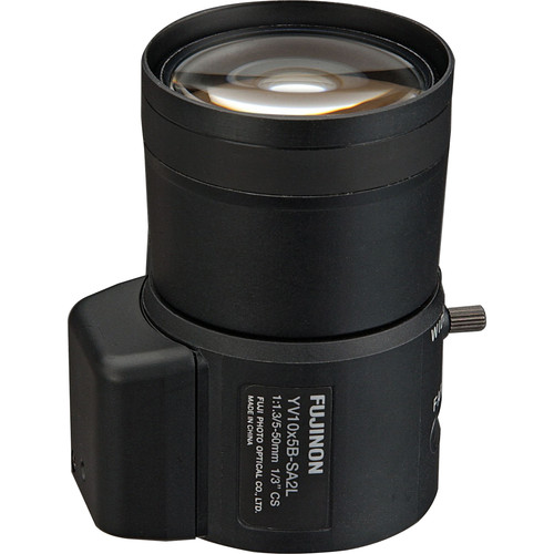 Fujinon CS Mount 5 - 50mm f/1.3 Varifocal Lens with DC Auto Iris