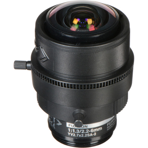 Fujinon 3 MP Varifocal Lens (2.2-6mm, 2.7x Zoom)