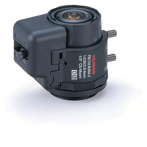 "Fujinon YV2.7x2.9LR4D-2 1/3"" CS Mount 2.9-8mm f/0.95 Manual Iris Lens"