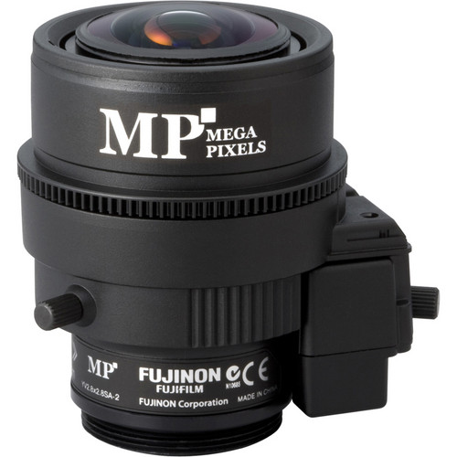 Fujinon 3 MP Varifocal Lens (2.8-8mm, 2.8x Zoom)