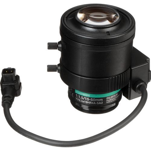 Fujinon 1.3 Megapixel Varifocal T360 Lens (15-50mm, 3.3x Zoom)