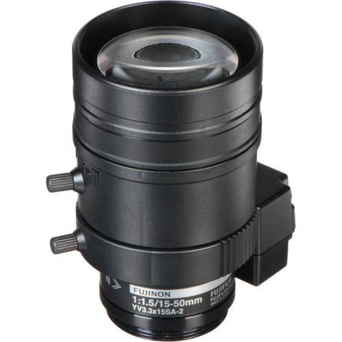 Fujinon 3 MP Varifocal Lens (15-50mm, 3.3x Zoom)