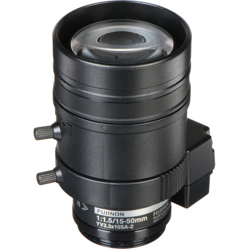 Fujinon 3 MP Varifocal Lens (15-50mm, 3.3x Zoom)