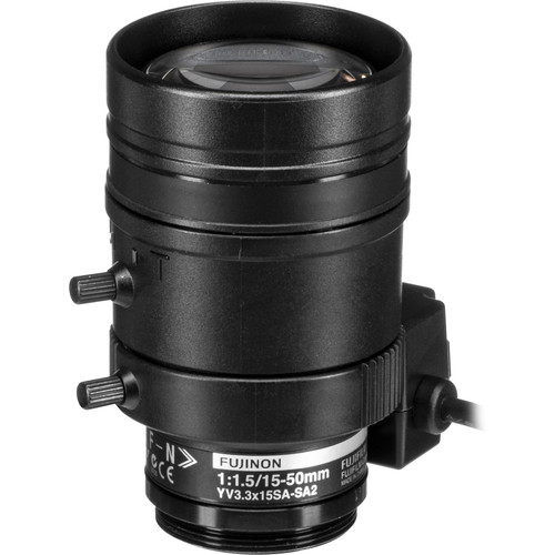 Fujinon Varifocal Lens (15-50mm, 3.3x Zoom)
