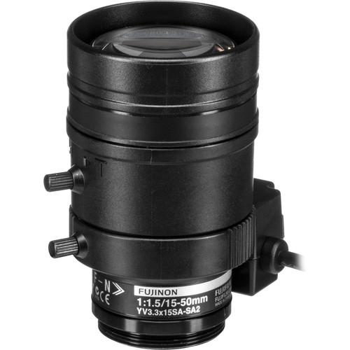 Fujinon Varifocal Lens (15-50mm, 3.3x Zoom)