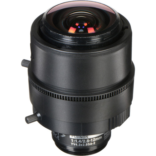Fujinon 3 MP Varifocal Lens (2.8-12mm, 4.3x Zoom)