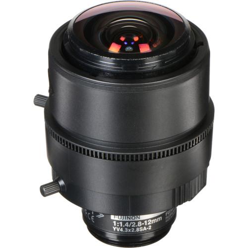 Fujinon 3 MP Varifocal Lens (2.8-12mm, 4.3x Zoom)