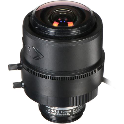 Fujinon YV4.3x2.8SA-SA2 CS-Mount 2.8-12mm Varifocal Lens (Long Cable)