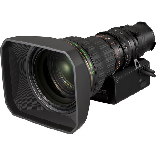 Fujinon 7.6-167mm f/1.8-2.5 Lens with Motor Drive and 2x Extender
