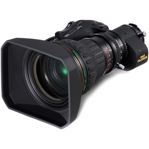 Fujinon ZA22x7.6BERM-M6 ENG Style Lens with Servo Zoom and M6