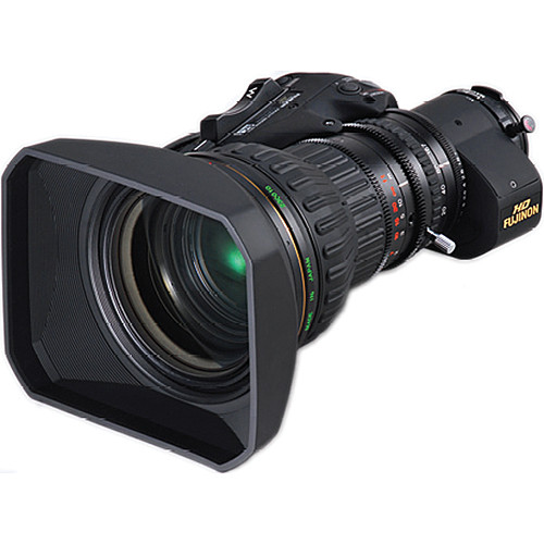 Fujinon ZA22x7.6BRM-M6 ENG Style Lens with Servo Zoom and M6