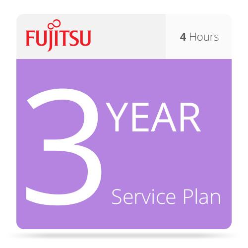 Fujitsu 3-Year Basic 4 Hour Service For fi-6770A