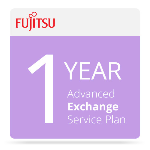 Fujitsu Advance Exchange Service for ScanSnap Scanners (1 Year)