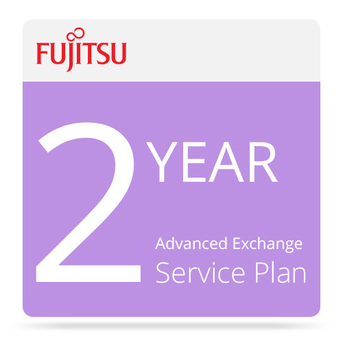 Fujitsu Advance Exchange Service for ScanSnap Scanners (2 Years)