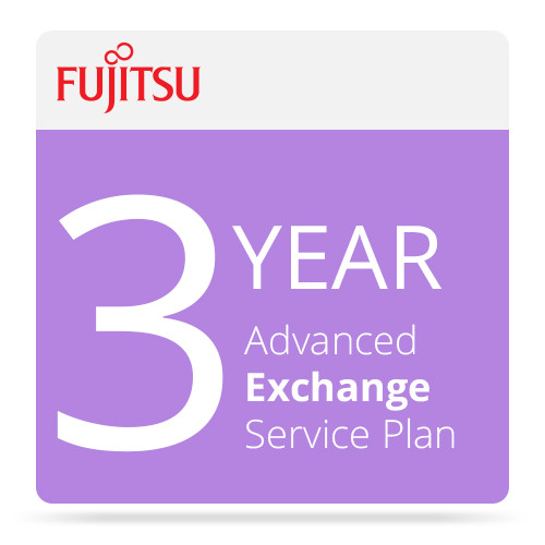 Fujitsu Advance Exchange Service for ScanSnap Scanners (3 Years)
