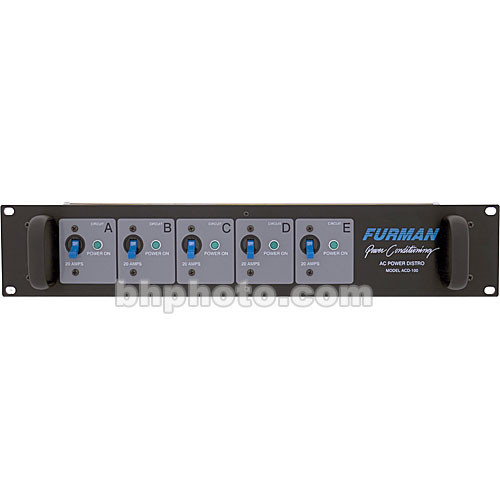 Furman ACD-100 AC Power Distribution Rack