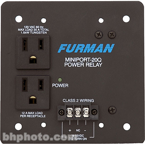 Furman Miniport 20Q Power Relay Outlet