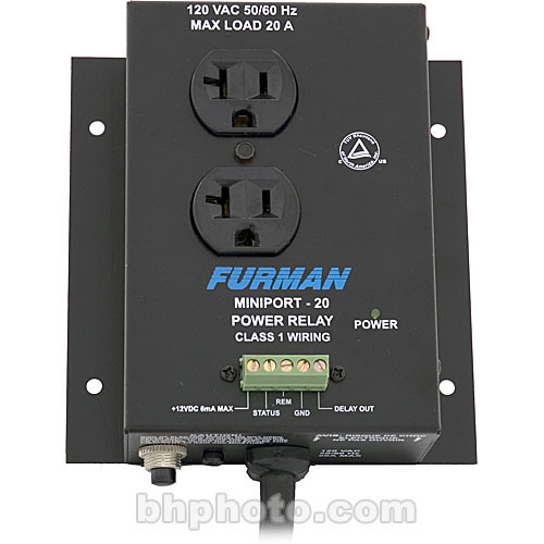 Furman Miniport 20 Power Relay Outlet