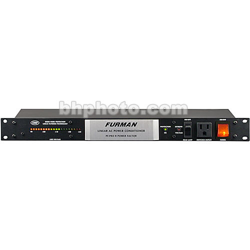 Furman Power Factor Pro R - Rackmount 8-Outlet Clear Tone Power Conditioner with Line Voltage Meter
