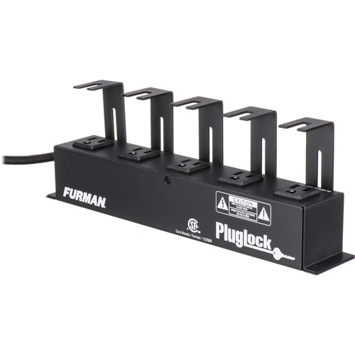 Furman Locking Outlet Strip 120v/15a