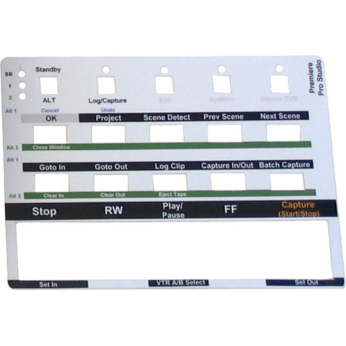 FutureVideo Pre-Cut Labels for MC-20 Device Controllers