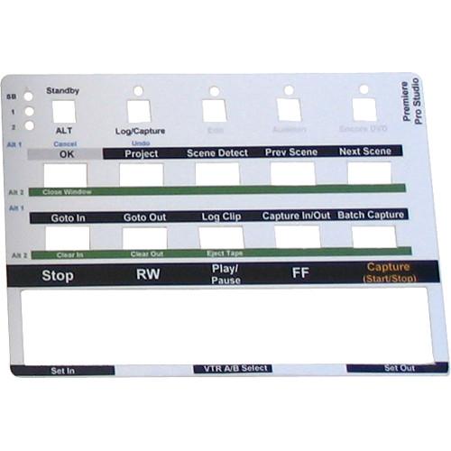 FutureVideo Pre-Cut Labels for MC-20 Device Controllers