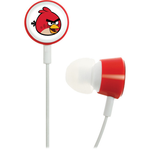 GEAR4 Angry Birds Tweeters Headphones (Red Bird)