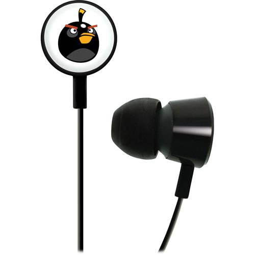 GEAR4 Angry Birds Tweeters Headphones (Black Bomb Bird)